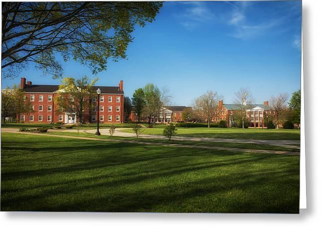 West Virginia Wesleyan College Greeting Card by Mountain Dreams