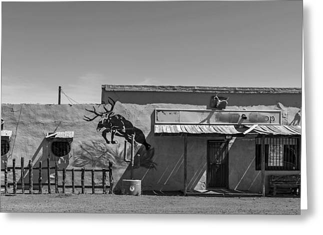 Store Fronts Greeting Cards - Western Style Store in Van Horn Texas Greeting Card by Mountain Dreams