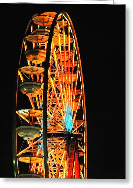 Wheel Well Greeting Card by Diana Angstadt