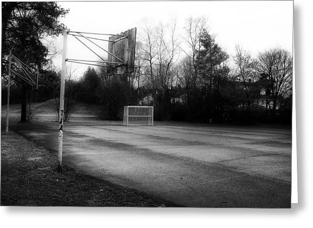 Backboards Greeting Cards - Where Dreams Begin Greeting Card by Dscheymu