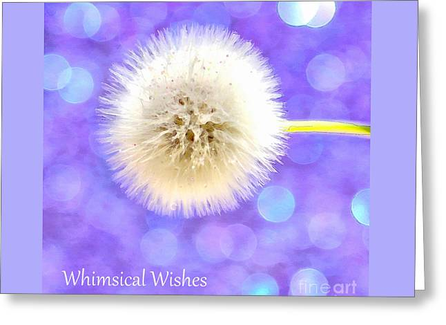 Whimsical Wishes Greeting Card by Krissy Katsimbras