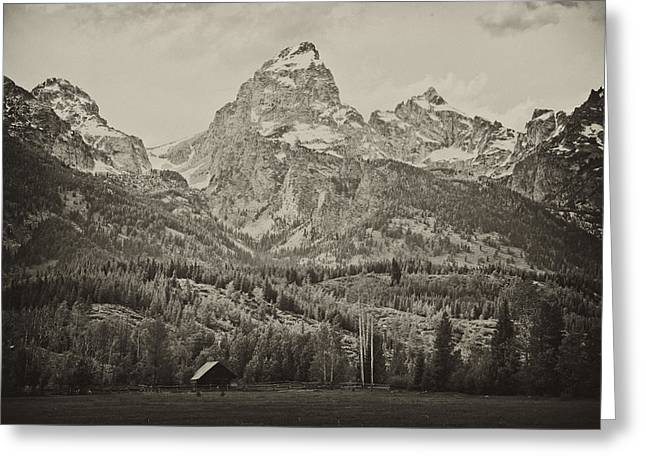 Fur Rendezvous Greeting Cards - Wilderness Home Greeting Card by Hugh Smith