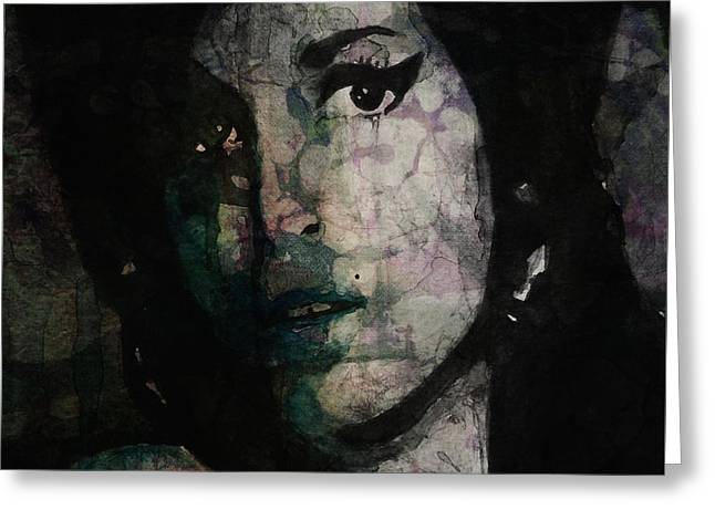Amy Greeting Cards - Will You Still Love Me Tomorrow Greeting Card by Paul Lovering