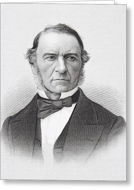 British Prime Minister Greeting Cards - William Ewart Gladstone 1809 To 1898 Greeting Card by Ken Welsh