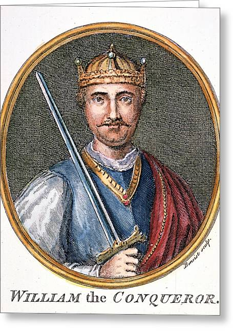 11th Century Greeting Cards - William The Conqueror Greeting Card by Granger