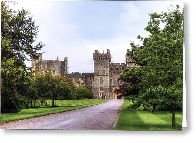 Windsor Greeting Cards - Windsor Castle Greeting Card by Joana Kruse