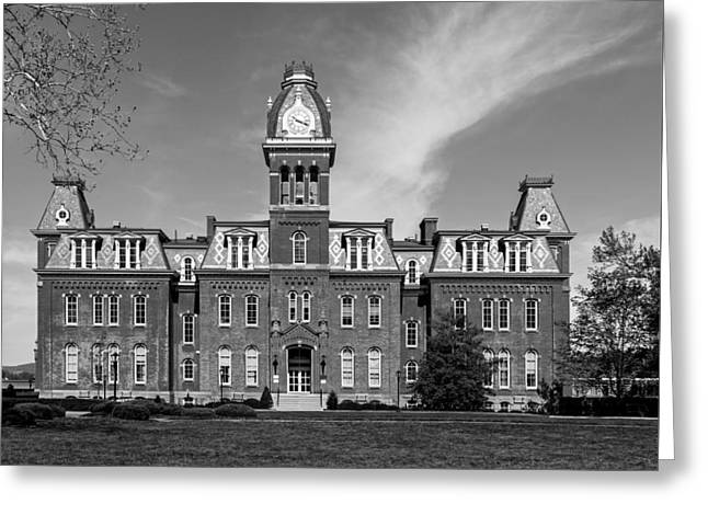 Woodburn Greeting Cards - Woodburn Hall - West Virginia University Greeting Card by Mountain Dreams