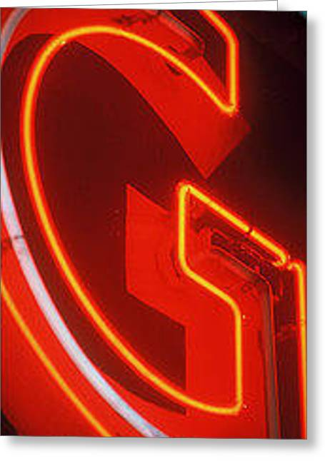 Sale Glass Greeting Cards - Worlds best Neon and Graffiti Greeting Card by Signs of the Times Collection
