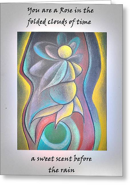 Female Body Greeting Cards - You are a Rose Greeting Card by George  Page