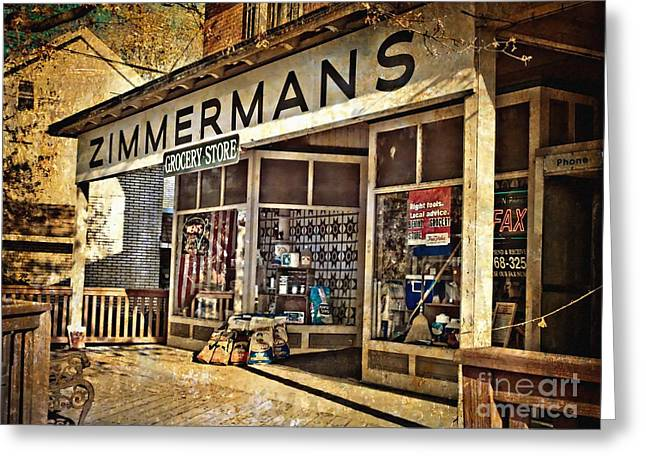 Zimmerman Greeting Cards - Zimmermans Greeting Card by Kathy Jennings