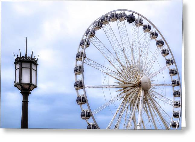 Palace Amusements Greeting Cards - Brighton Pier Greeting Card by Joana Kruse