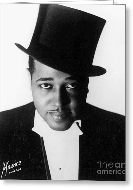 Black Top Greeting Cards - Duke Ellington (1899-1974) Greeting Card by Granger