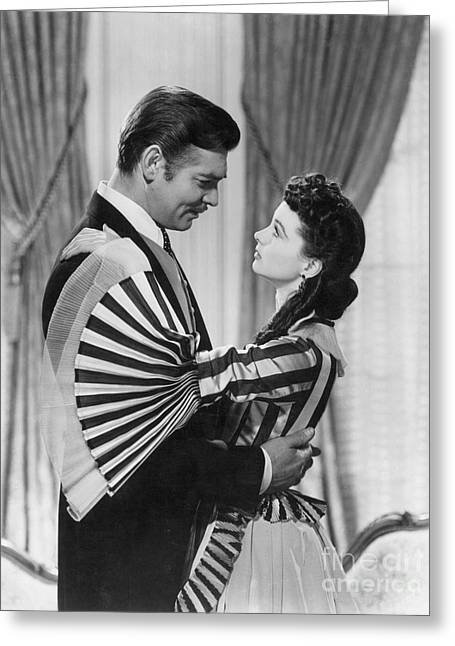 Movie Star Photographs Greeting Cards - Gone With The Wind, 1939 Greeting Card by Granger