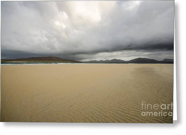 Luskentyre Greeting Card by Stephen Smith
