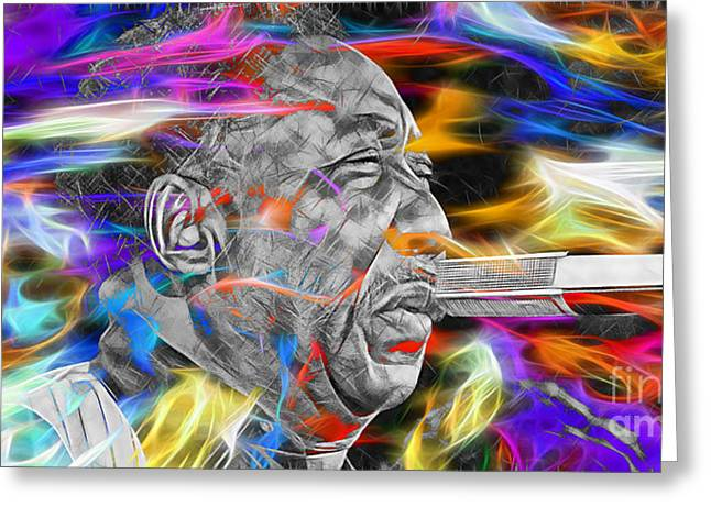 Hip Greeting Cards - Muddy Waters Collection Greeting Card by Marvin Blaine