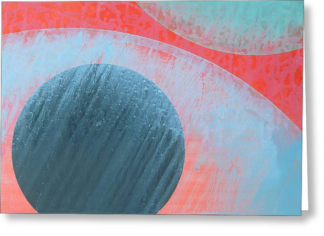 Spheres Paintings Greeting Cards - Untitled Greeting Card by Charlie Millar