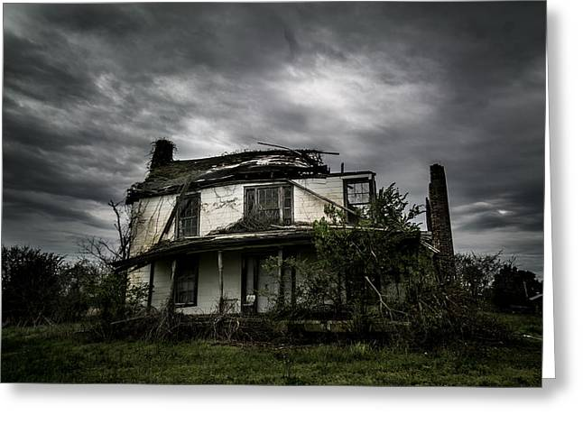 Abandoned House Greeting Cards - Untitled Greeting Card by Molly Grabill
