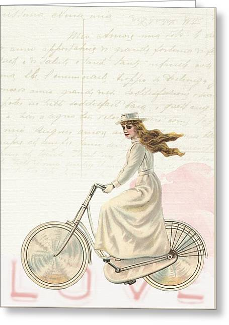 Vintage Greeting Card by FL collection