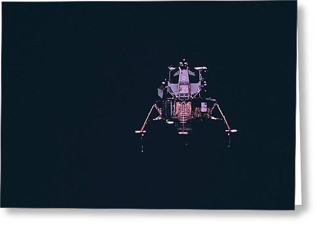 Apollo Program Greeting Cards - Apollo Mission 16 Greeting Card by Nasa