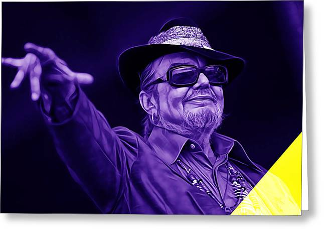 Cool Greeting Cards - Dr John Collection Greeting Card by Marvin Blaine