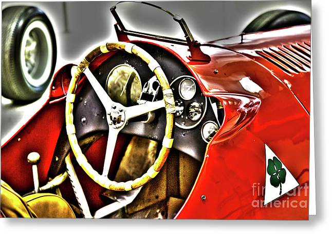 Indy Race Car Museum Greeting Card by ELITE IMAGE photography By Chad McDermott