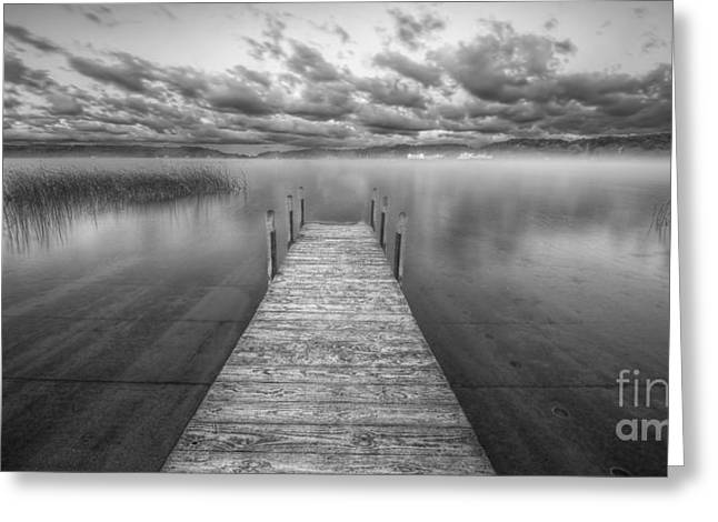 Portage Lake Greeting Card by Twenty Two North Photography
