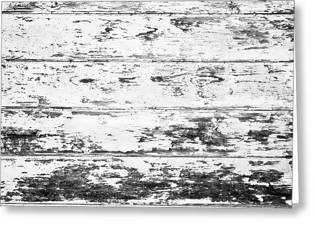 Beige Abstract Greeting Cards - Weathered wood Greeting Card by Tom Gowanlock