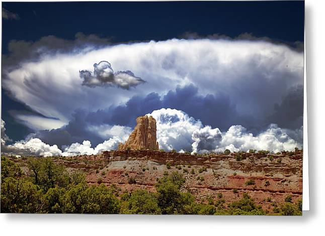 Grand Circle Greeting Cards - San Rafael Swell Greeting Card by Mark Smith