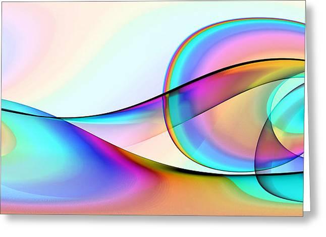 Abstract - Lakshmi Yei Greeting Card by Sir Josef Social Critic - ART