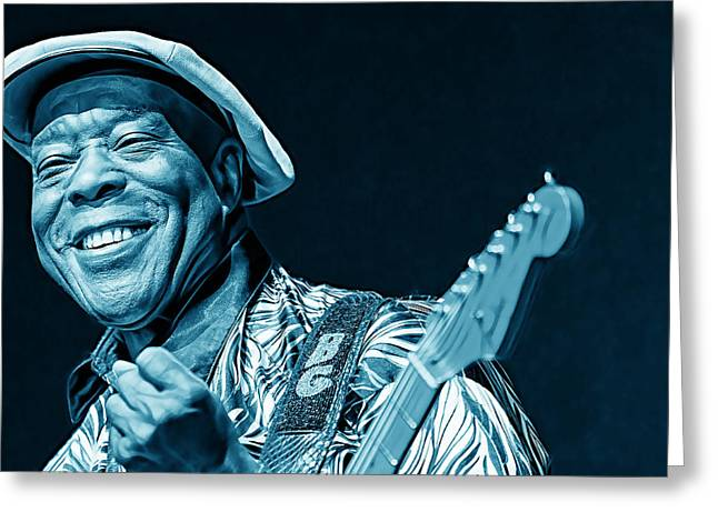 Buddy Guy Collection Greeting Card by Marvin Blaine