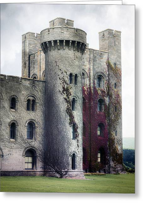 Chateau Greeting Cards - Castle Greeting Card by Joana Kruse