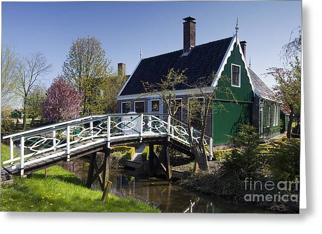 Zaanse Schans Greeting Cards - Zaanstad Greeting Card by Andre Goncalves