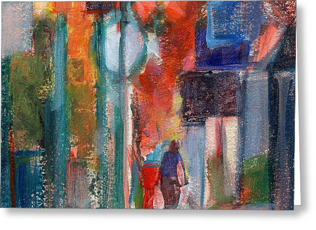House-warming Greeting Cards - RCNpaintings.com Greeting Card by Chris N Rohrbach