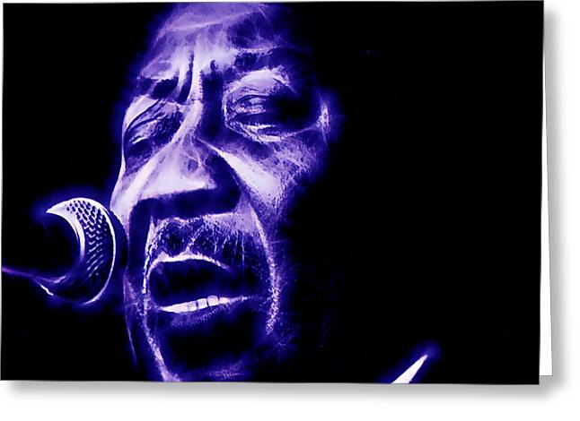 Chicago Greeting Cards - Muddy Waters Collection Greeting Card by Marvin Blaine