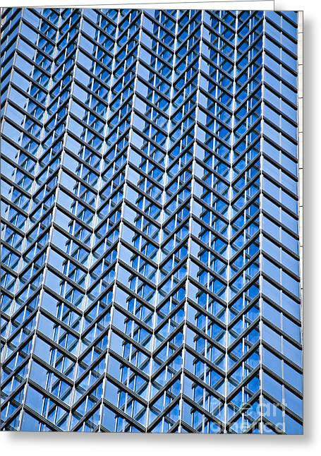 Sightsee Greeting Cards - Tokyo Buildings Greeting Card by Bill Brennan - Printscapes