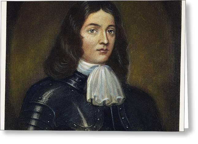 WILLIAM PENN (1644-1718) Greeting Card by Granger