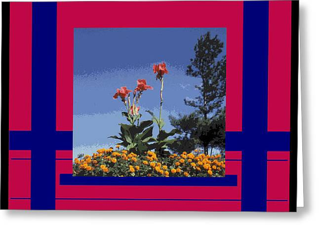 Photographs With Red. Greeting Cards - Digital Artistry Greeting Card by Stephen Gredler