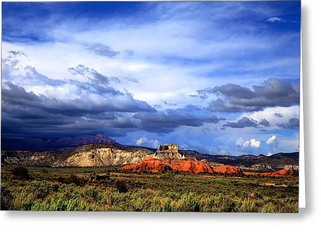 Kodachrome Greeting Cards - Kodachrome Basin Greeting Card by Mark Smith