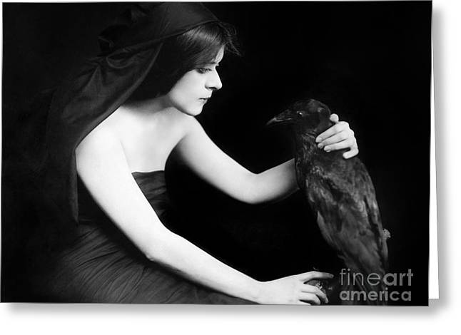 Starlet Photographs Greeting Cards - Theda Bara (1885-1955) Greeting Card by Granger