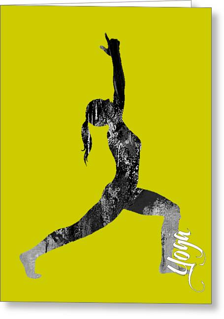 Fit Greeting Cards - Yoga Collection Greeting Card by Marvin Blaine