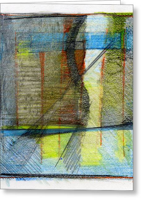 Dine Mixed Media Greeting Cards - RCNpaintings.com Greeting Card by Chris N Rohrbach