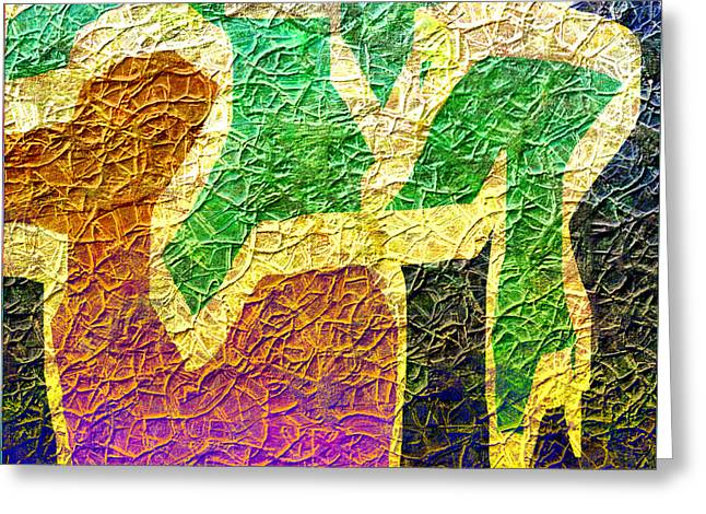 Abstract Digital Digital Greeting Cards - 1450 Abstract Thought Greeting Card by Chowdary V Arikatla