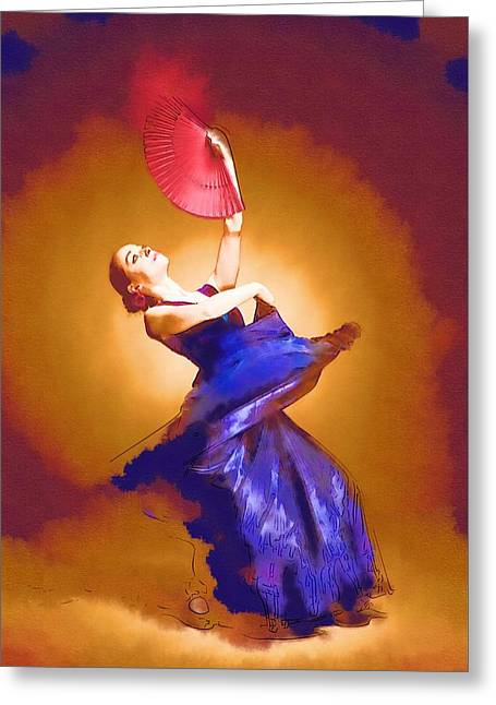 Ballet Dancers Greeting Cards - Dance How To Greeting Card by Michael Vicin
