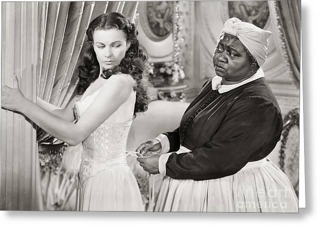 African-american Greeting Cards - Gone With The Wind, 1939 Greeting Card by Granger