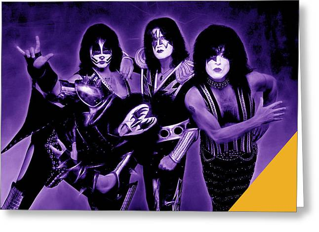 Kiss Greeting Cards - Kiss Collection Greeting Card by Marvin Blaine