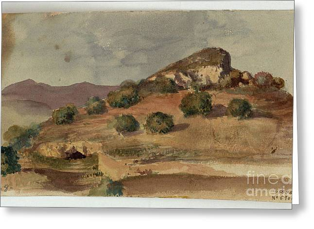 1874 Greeting Cards - Landscape Greeting Card by MotionAge Designs