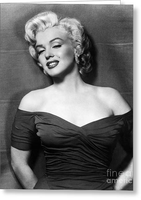Marilyn Monroe (1926-1962) Greeting Card by Granger