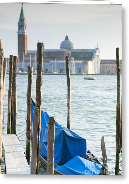 Outfit Greeting Cards - Venice Greeting Card by Andre Goncalves