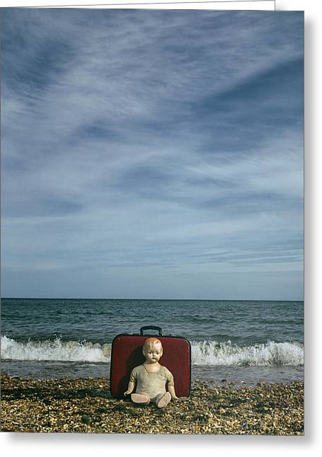 Doll Photographs Greeting Cards - Waiting Greeting Card by Joana Kruse