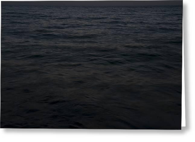 Beach Photography Greeting Cards - Ocean Greeting Card by Yaniv Eitan
